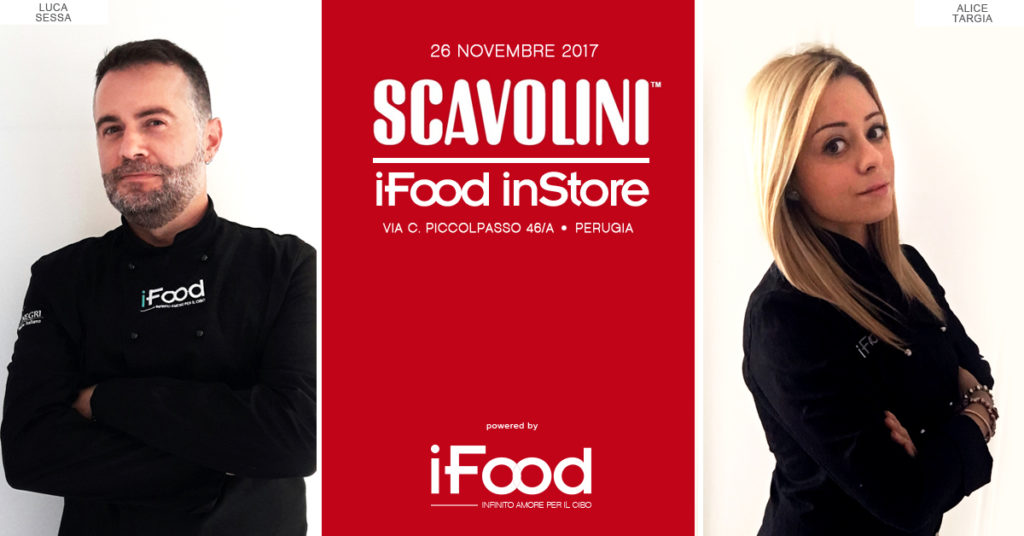 """iFood in Store"" arriva a Perugia"