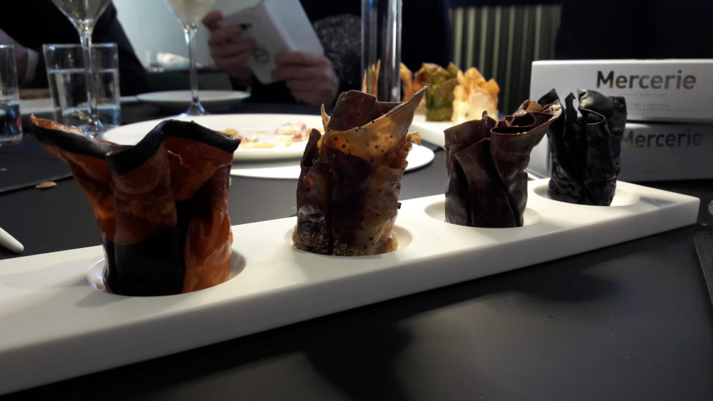 Mercerie: i bocconi d'alta cucina di Igles Corelli